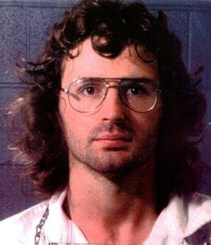 Mug shot of David Koresh.